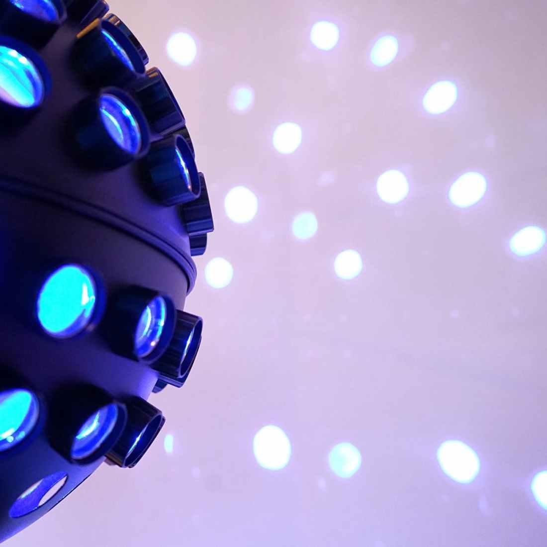 abstract art ball blue